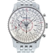 Breitling Montbrillant Datora Steel 43mm Silver United States of America, Georgia, Atlanta