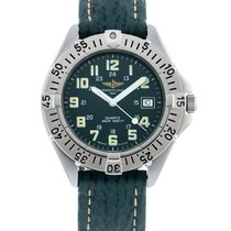 Breitling Colt Quartz Steel 37.5mm Green United States of America, Georgia, Atlanta