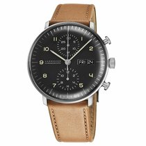 Junghans max bill Chronoscope Steel 40mm Black Arabic numerals United States of America, New Jersey, Cherry Hill