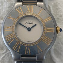 Cartier 21 Must de Cartier Steel 31mm United States of America, New York, New York