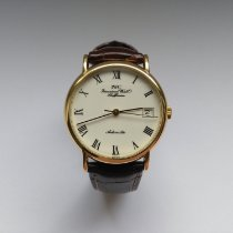 IWC Yellow gold Automatic White Roman numerals 34mm pre-owned Portofino Automatic
