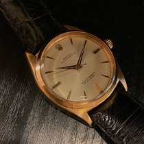 Rolex Oyster Perpetual pre-owned Leather