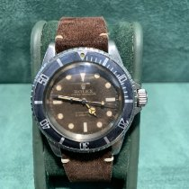 Rolex Submariner (No Date) Сталь 40mm Коричневый Без цифр