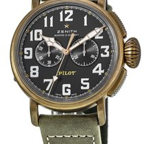 Zenith Pilot Type 20 Extra Special new Automatic Chronograph Watch with original box 29.2430.4069/21.C800