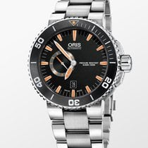 Oris Aquis Small Second 01 743 7673 4159-07 8 26 01PEB new