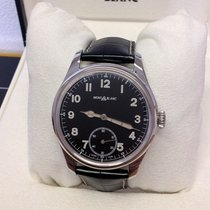 Montblanc 1858 113860 New Steel 44mm Manual winding
