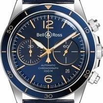 Bell & Ross BR V2 Steel 41mm Blue