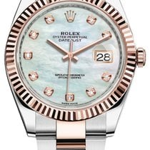 Rolex Datejust Or/Acier 41mm Nacre