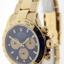 Rolex Daytona 18K Yellow Gold Chronograph Paul Newman Mens...
