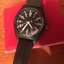 Marathon Rare RED BOX Vintage Military Watch Automatic Black...