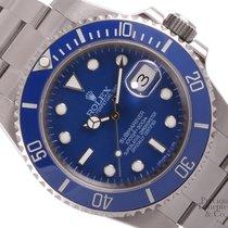 롤렉스 (Rolex) Blue Submariner 116610 New Style Watch-Stainless...