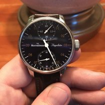 Meistersinger 43mm Manual winding 2013 pre-owned Singulator