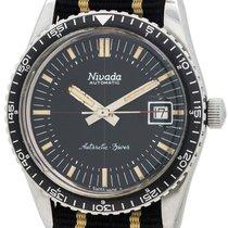 """Nivada """"Antarctic"""" Diver's Hours and Minutes Bezel circa 1960's"""