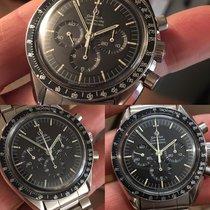 Omega Speedmaster Professional Moonwatch Acciaio 42mm Nero Italia, Rassina