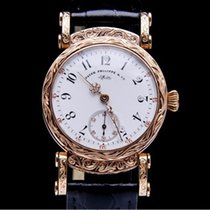 Patek Philippe - chronometer 14k solid gold hand engraved...