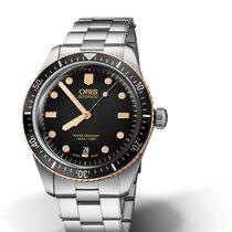 Oris Divers Sixty Five 01 733 7707 4354-07 8 20 18 Oris DIVING SIXTY-FIVE Acciaio new
