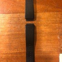 理查德•米勒 Richard Mille RM10 black leather strap