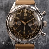 Aerowatch Vintage 1960`s Military-style Black Glossy Dial...