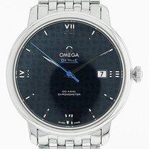 Omega De Ville Prestige Сталь 40mm Синий