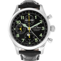 Ernst Benz Chronograph 40mm Automatic 2017 new Black