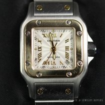Cartier Santos Galbée pre-owned Steel