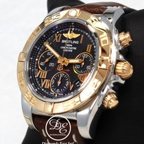 Breitling Chronomat Cb014012 41mm Chronograph 18k Rose Gold...