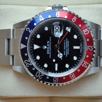 Rolex [NO-HOLE+NEAR NOS+STICK DIAL] GMT Master II Pepsi, D - 2006