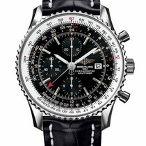 Breitling Navitimer World Steel 46mm United States of America, New Jersey, Edgewater