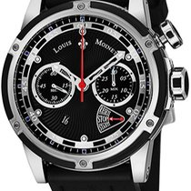 Louis Moinet Chronograph Automatic new Jules Verne Black