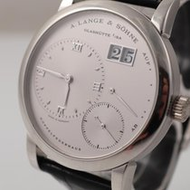A. Lange & Söhne Platinum Manual winding White 38mm pre-owned Lange 1