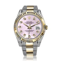 Rolex Datejust II Gold/Steel 41mm Mother of pearl No numerals United States of America, New York, New York