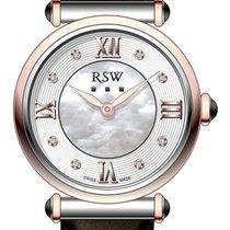 RSW 鋼 32mm 石英 RSW RSWL101-SRL-7 新的