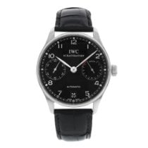 IWC Portuguese Automatic Steel 46mm Black United States of America, New York, New York