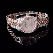 Rolex Rose gold Automatic Pink 28mm new Lady-Datejust