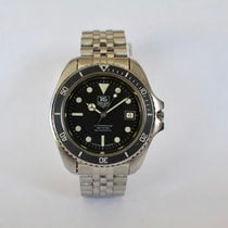 TAG Heuer pre-owned Automatic 42mm Black Mineral Glass