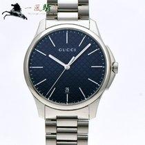 Gucci G-Timeless Сталь 40mm Синий