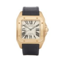 Cartier Santos 100 W20071Y1 or 2657 2007 pre-owned