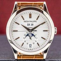 Patek Philippe Annual Calendar Or blanc 38mm Argent