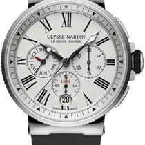 Ulysse Nardin Marine Chronograph Сталь Цвета шампань