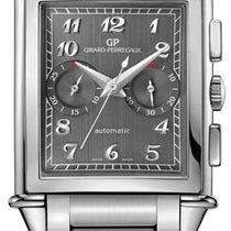 Girard Perregaux Vintage 1945 Steel 37mm Grey United States of America, New York, Airmont