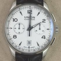 Union Glashütte Noramis Chronograph Steel 42,00mm Arabic numerals