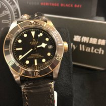 帝陀 (Tudor) Cally - 2017 Heritage Black Bay 79733N Leather