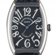 Franck Muller Casablanca Stahl Automatik Armband Leder 47x34mm...
