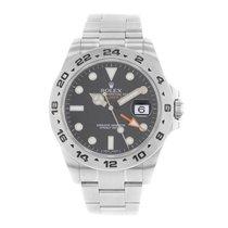 ロレックス (Rolex) Explorer II 216570 Stainless Steel Men's Watch...