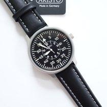 Aristo Pilot Stal 42mm Czarny Arabskie
