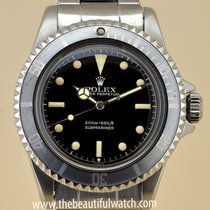 Rolex Submariner Gilt chemin de fer swiss pointed guards