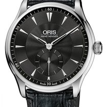 Oris Artelier Small Second Steel 40mm Black United States of America, New York, Airmont