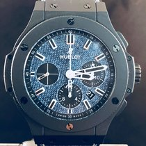 Hublot Big Bang Chrono Jeans / Black Ceramic  LMTD EDITION  MINT
