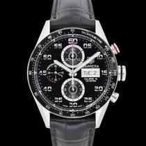 TAG Heuer Carrera Calibre 16 Steel 43mm Black United States of America, California, San Mateo