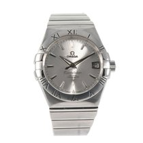 Omega Constellation Çelik 38mm Gri